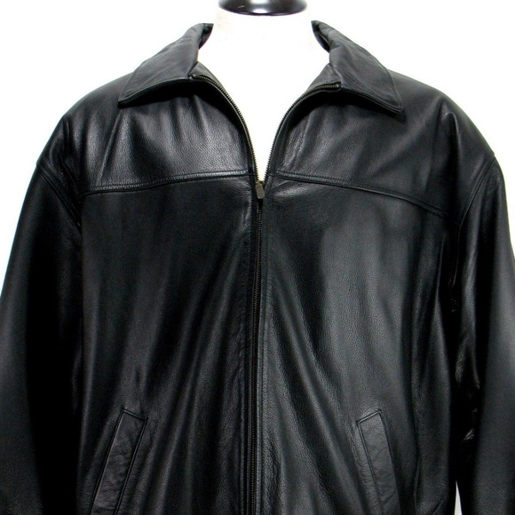 Haggar Other - Haggar - Generations - Men's Leather Jacket Sz XL